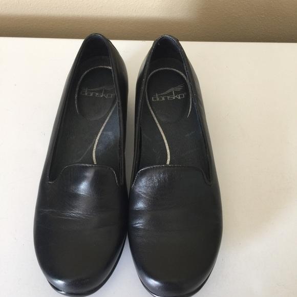 c521c0a1358 Dansko Shoes - Dansko Olivia Slip On Loafer Black Leather Shoes